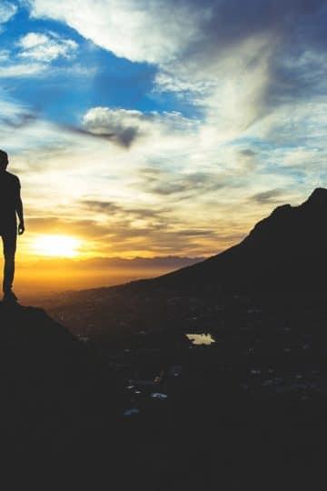 Men on the edge