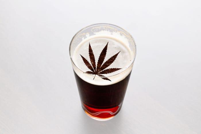 Marijuana beer