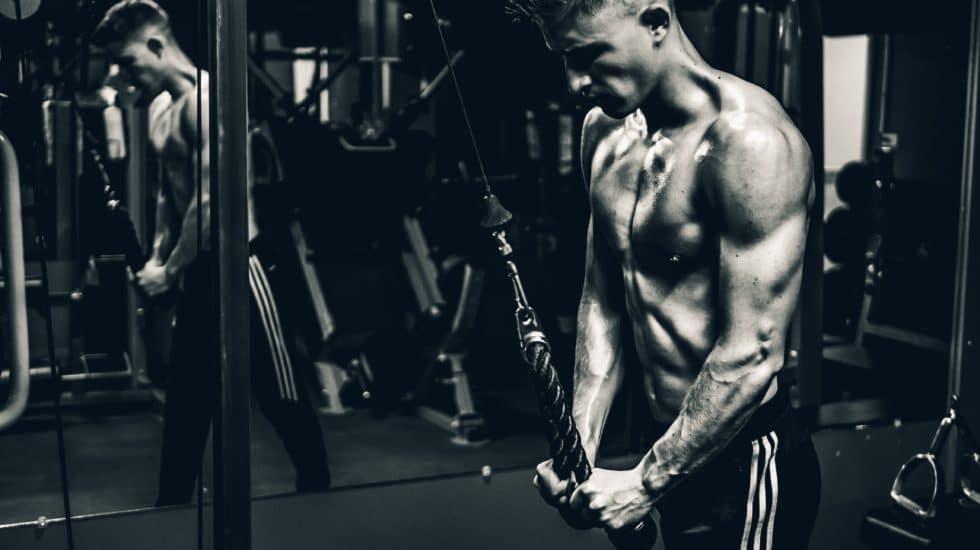Men at the gym