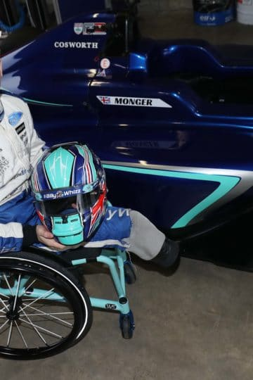 Billy Monger interview