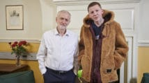 Professor Green and Jeremy Corbyn