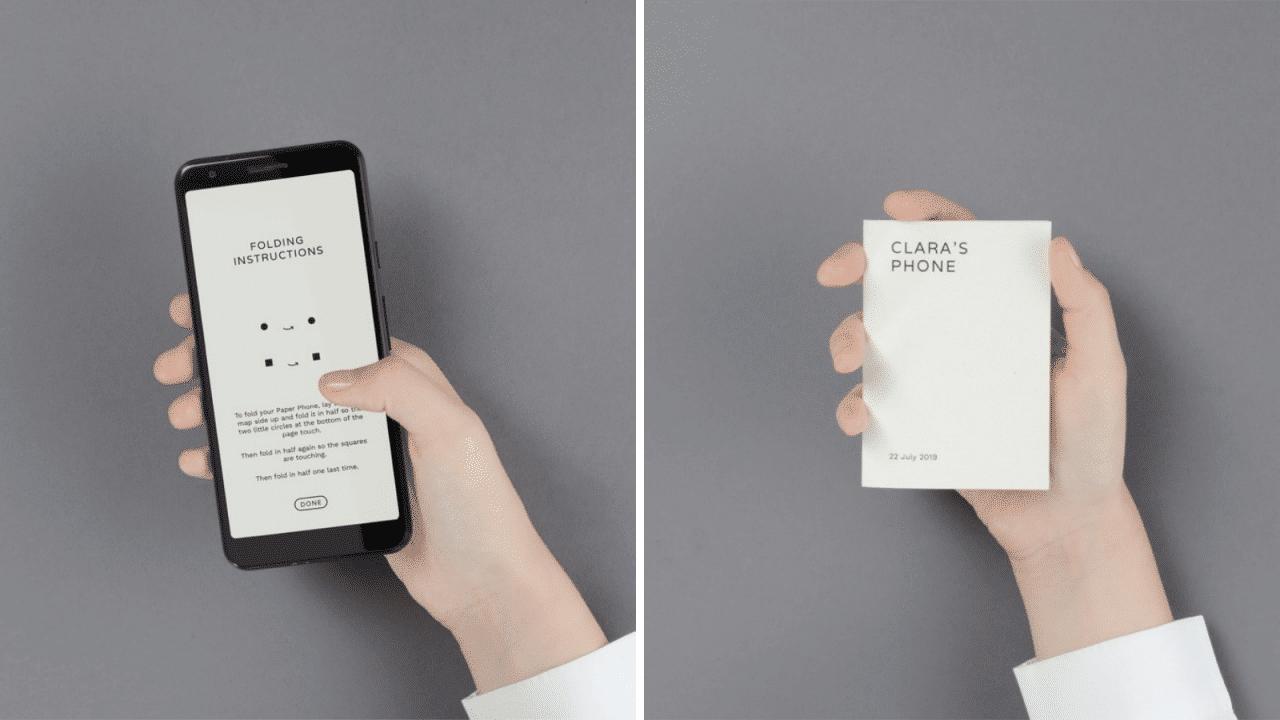 Google Paper phone app