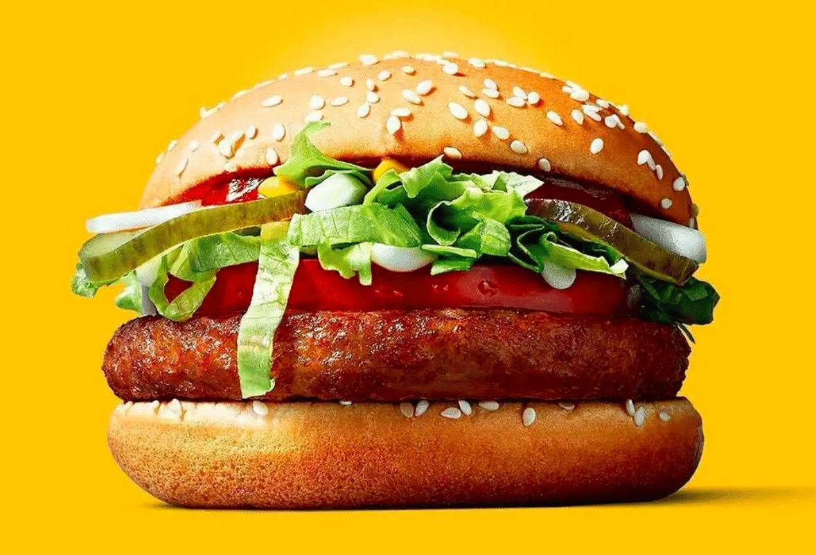 McVegan vegan fast food